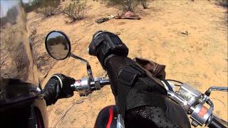11 Th Moto vlog I find a dead body with no head in the desert