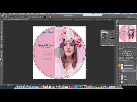 Photoshop Tutorial - CD Label erstellen