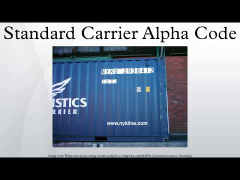 Standard Carrier Alpha Code