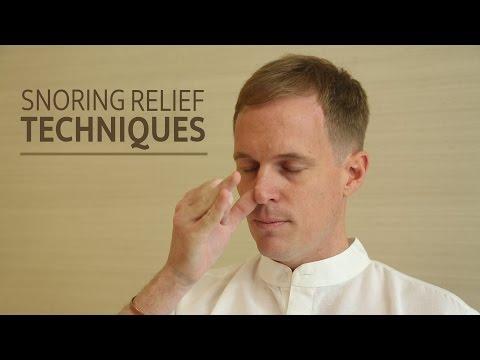 Snoring Relief Techniques   SRMD Yoga