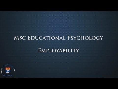 Msc Educational Psychology: Employability