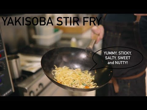 Cooking with SPO | Yakisoba Stir Fry (nontraditional)