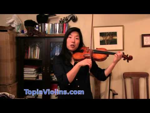 How to practice fast passages on the violin