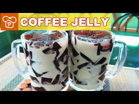 How to Make Coffee Jelly - Panlasang Pinoy Easy Recipes