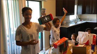 SURPRISED MY KIDS WITH A NINTENDO SWITCH!!!