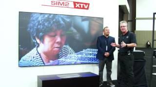Sim2 xTV - LASER Ultra Short Throw Projector