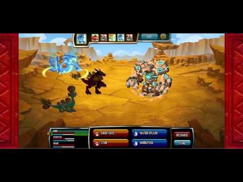 Monster Legends, 3rd islands last boss (with music) Popcorn EON Remix