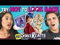 Try Not To Look Back Challenge ft FBE Staff