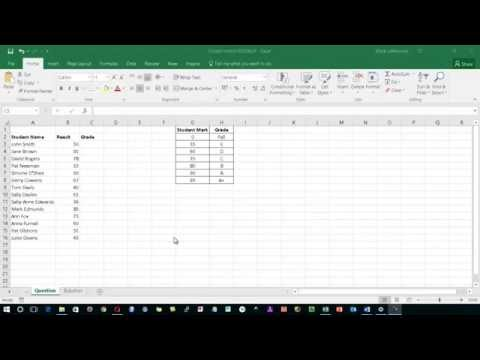 MS Excel   Closest Match VLOOKUP