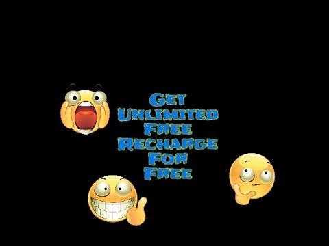 Unlimited free mobile recharge for free..free