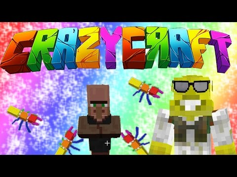 The Villager Realm!?   CrazyCraft 3.0 Ep.2
