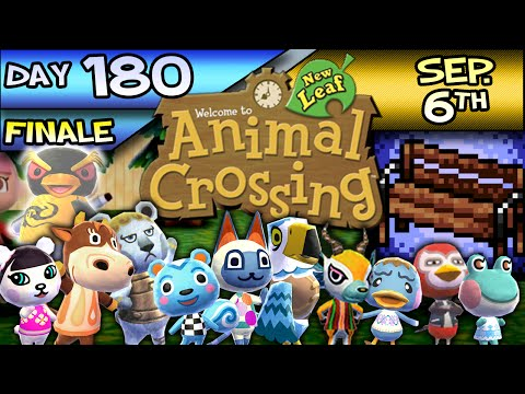 Animal Crossing: New Leaf – Day 180 – Sep. 6 – Straight Outta Benchton!