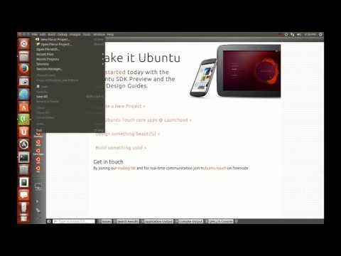Click package creation with Ubuntu SDK in Ubuntu 13.10
