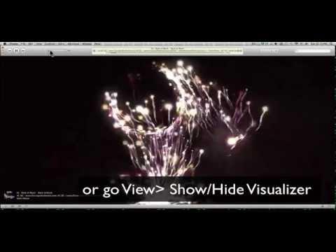 iTunes trick: iTunes Visualizer