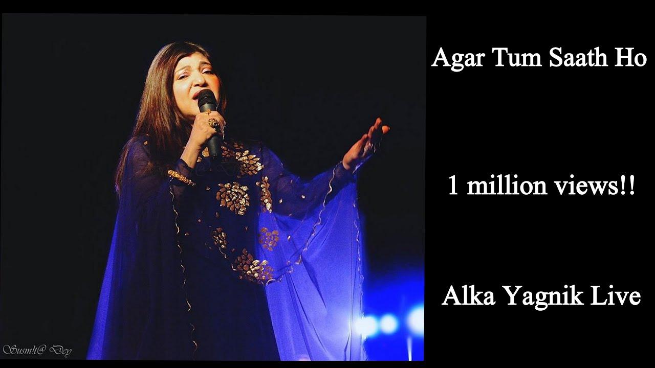 Download | Agar Tum Sath Ho | Arijit singh-Alka yagnik | Alka Yagnik in live concert | MP3 Gratis