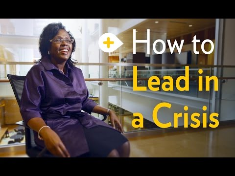 How to Lead in a Crisis | Michigan Ross School of Business
