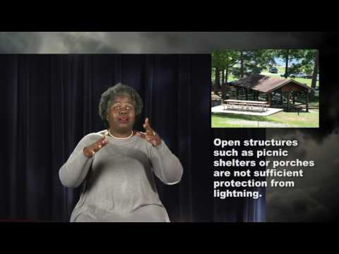 Lightning Safety for the Deaf and Hard of Hearing Community