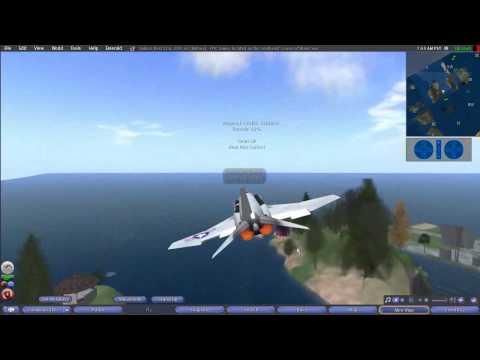 Second Life Airplane Tutorial 2