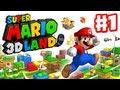 Super Mario 3D Land - Walkthrough Part 1 - World 1 ...