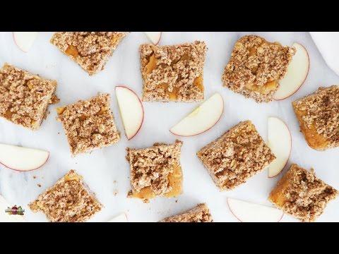Applesauce Bars | Quick, Healthy Gluten-Free & Vegan Recipe | Borton Fruit