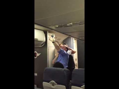 Southwest flight attendant HILARIOUS