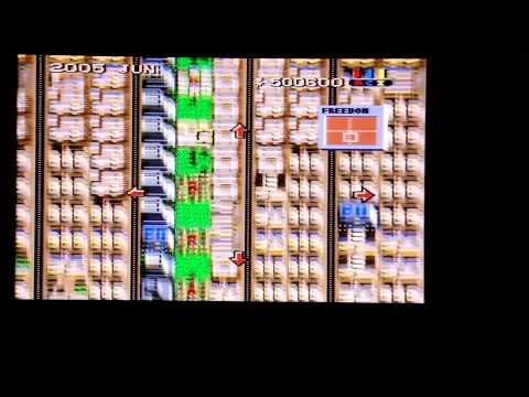 SNES Sim City Megalopolis Freedom Scenario