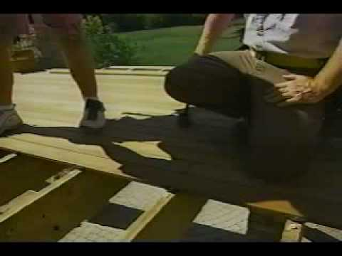 Installing an IPE deck with EBTY Hidden Composite Deck Fasteners
