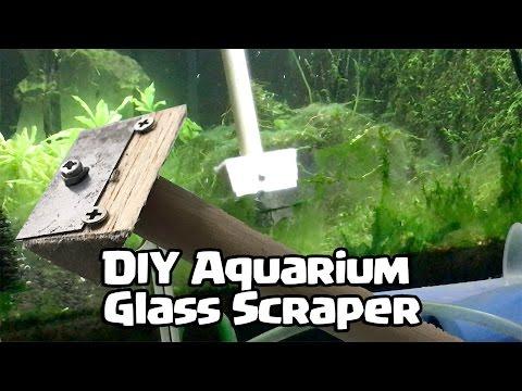 DIY Aquarium Glass Scraper
