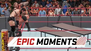 WWE 2K18: Epic Moments in the game