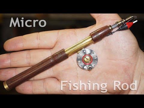 Micro Fishing Rod / DIY + Lathe