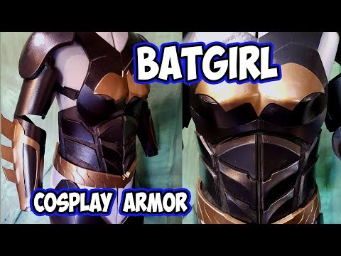 Batgirl Batman Arkham Knight style armor  Cosplay costume