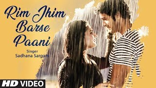 Rim Jhim Barse Paani  Latest Video Song   Sadhana Sargam Feat. Mrunal Jain, Krishna Gokani