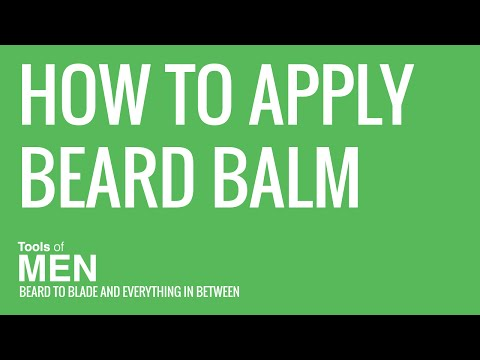 How to Apply Beard Balm In A Few Easy Steps