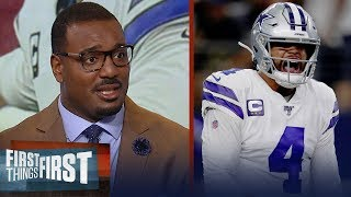 Dak Prescott impressed in Cowboys' Week 1 win vs the Giants — Canty | NFL | FIRST THINGS FIRST
