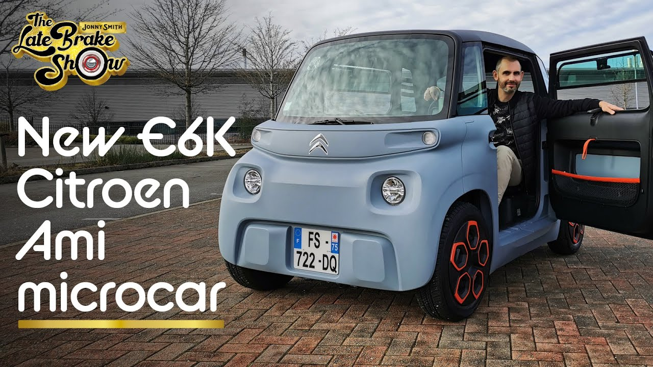 Why the new Citroen Ami is the EV city bubble car 14 year olds can drive // The Late Brake Show
