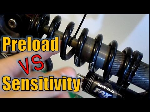 MTB rear suspension (Ep.3): Don't Preload your shock (too much)!