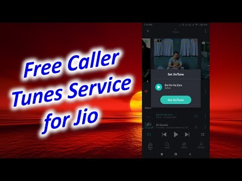 How to Set Free Caller Tunes Service for Jio