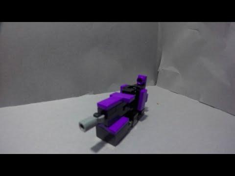 Lego TransFormers #21: ShockWave!