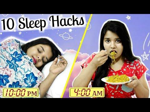 How To Fall Asleep FAST When you CAN'T SLEEP! | 10 Sleep Life hacks