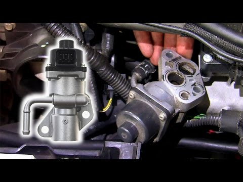 How to: Remove & inspect EGR valve Ford Duratec HE (Mondeo, Focus, Mazda)