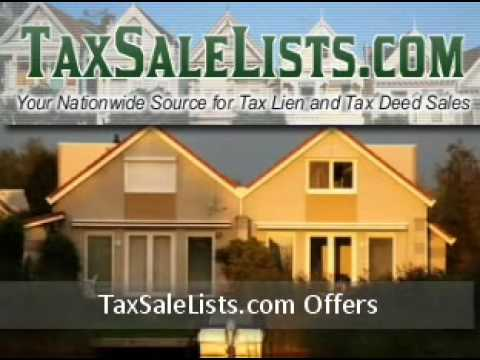 Get Help To Make Money From Tax Sales