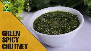 Green Spicy Chutney | Dawat | MasalaTV Show | Abida Baloch