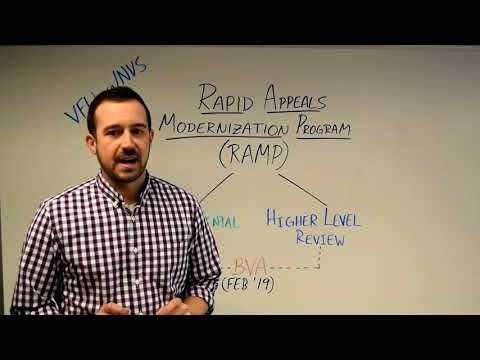 Introduction to Rapid Appeals Modernization Program (RAMP)