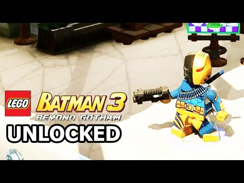 LEGO Batman 3: Beyond Gotham - How to Unlock Deathstroke + Review