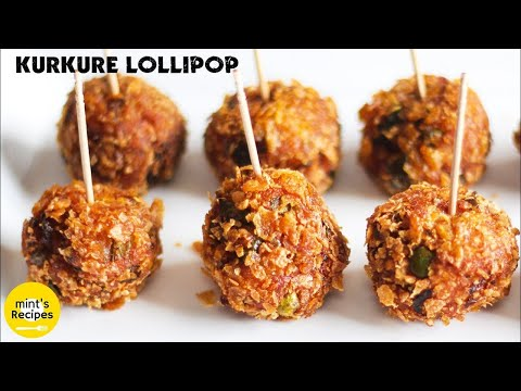 Veg Kurkure Lollipops Recipe - Evening Snacks Recipes