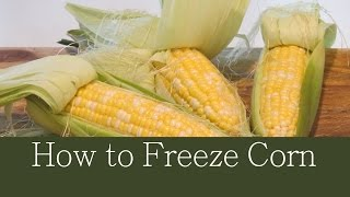 How To Freeze Corn The Frugal Chef