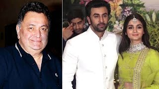 Rishi Kapoor HINTS about Ranbir & Alia WEDDING PLANS