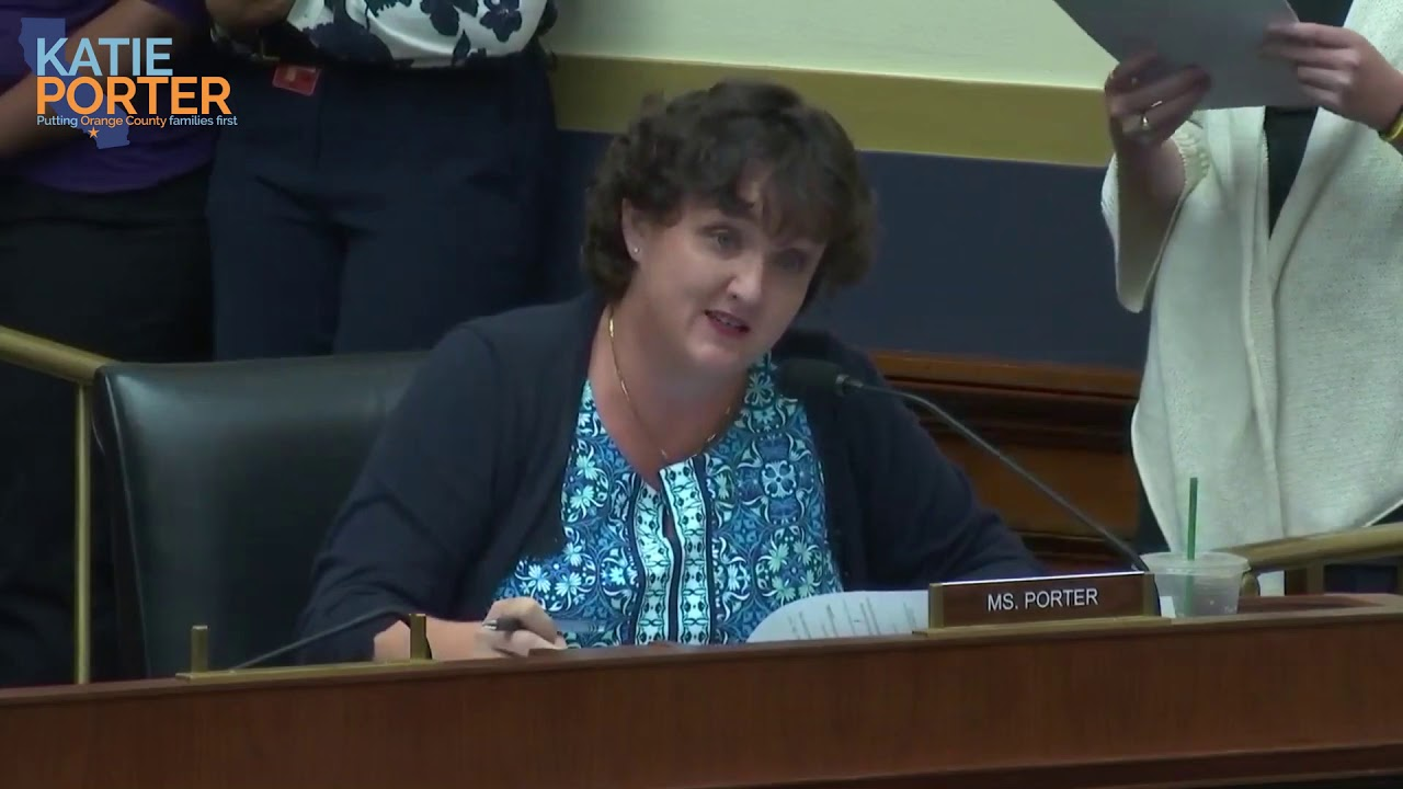 Rep. Porter calls out Trump official for past work with anti-LGBTQ hate group