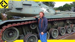 We Got a Tank!