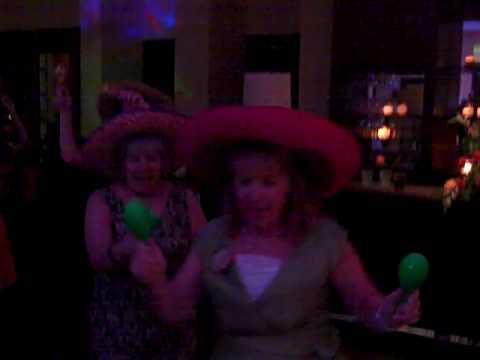 D.J. George Wedding Fun Congaline Dance,Props,Hats Maracas. Excellent Sound & Lights Motivating D.J.